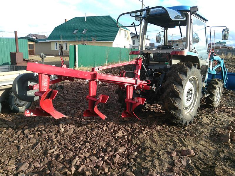 результаты вспашка земли трактор красноярск данного